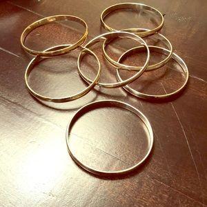 Bracelets - set of 7